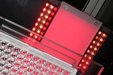 Inspection of microtiter plates